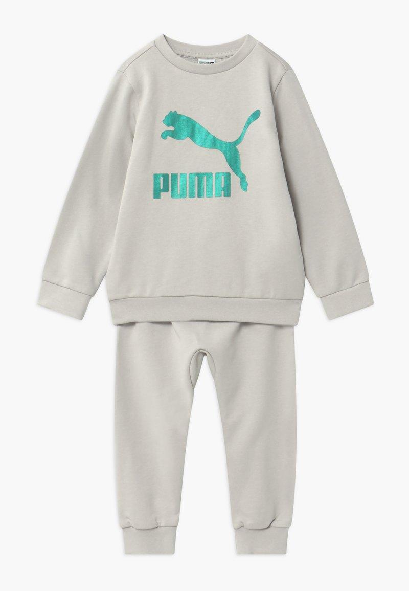 Puma - PUMA X ZALANDO BABY JOGG SET - Tepláková souprava - gray violet