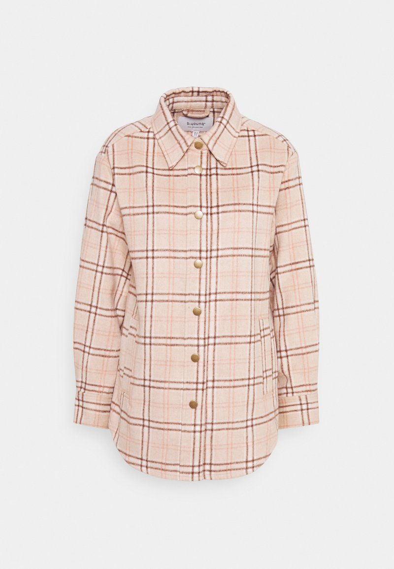 b.young - BYBECELO - Button-down blouse - cement mix