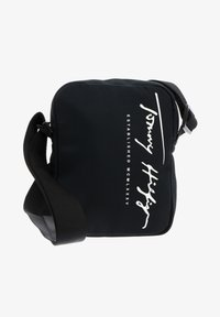 TH SIGNATURE MINI REPORTER - Across body bag - black