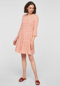 comma - Day dress - coral - 1