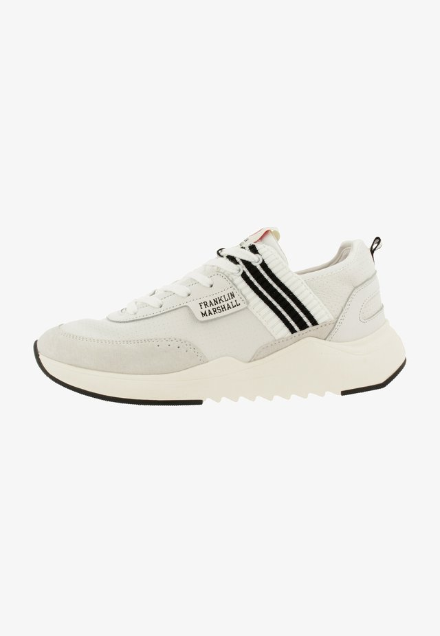 ALPHA HOLES - Sneakers laag - white