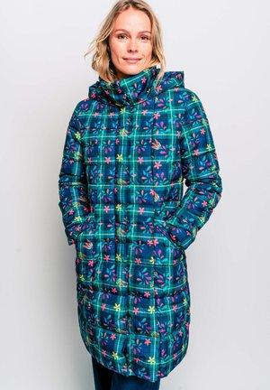 ROSEBUD  - Winter coat - blue/light pink