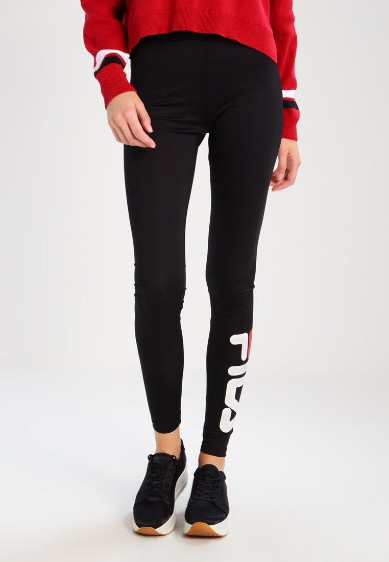 Fila Tall - FLEX  - Leggings - Trousers - black