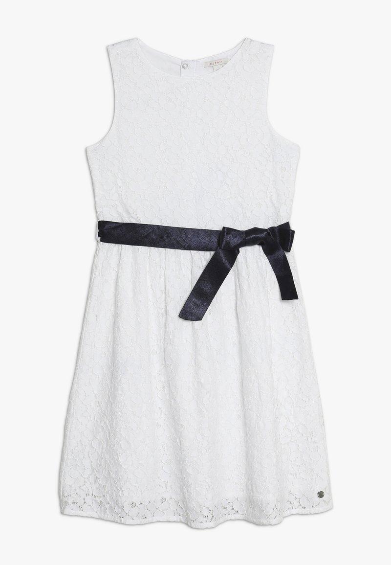 Esprit - DRESS - Cocktailjurk - white