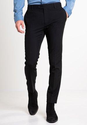 SUIT TROUSERS - Suit trousers - black