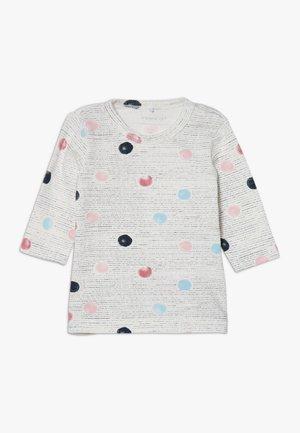 NBFBENITTA - Long sleeved top - snow white