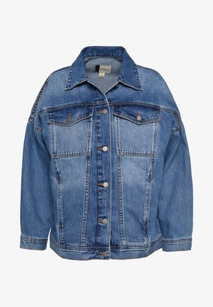 THEOCEANISCALL X SISTER - Kurtka jeansowa - medium blue