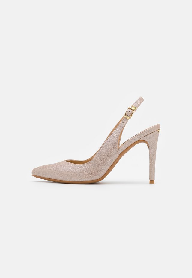 VICKIE SLING BACK  - Classic heels - gold