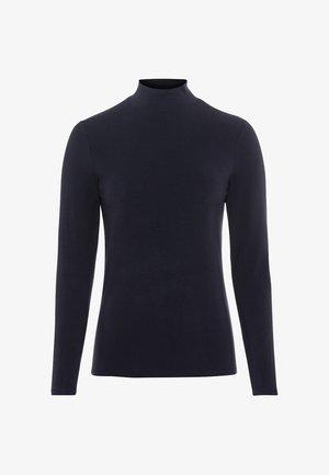 Long sleeved top - dunkelblau