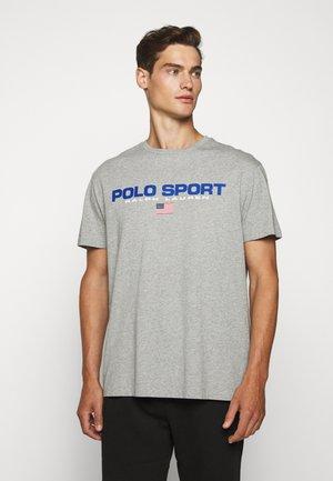 T-shirt print - andover heather