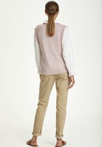 Cream - Waistcoat - burnished lilac - 2
