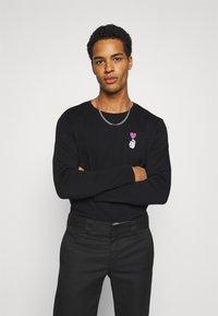 YOURTURN - UNISEX - T-shirt à manches longues - black - 2