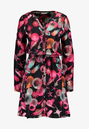 LISELOTTE SHORT DRESS - Sukienka letnia - black