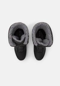 Hi-Tec - AURORA WP - Botas para la nieve - black/mid grey - 3