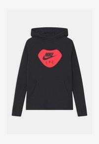 Nike Performance - LIVERPOOL FC HOOD UNISEX - Club wear - black/light crimson - 0