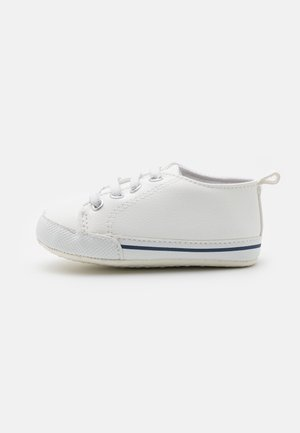 MINI CLASSIC TRAINER UNISEX - First shoes - white