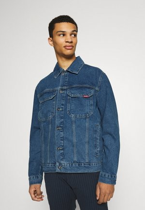 CLASSIC JACKET - Džínová bunda - mid blue