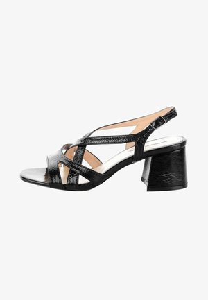 ORZALE - High heeled sandals - black