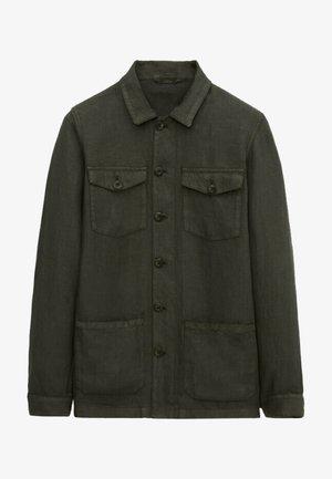 MIT TASCHEN - Summer jacket - khaki