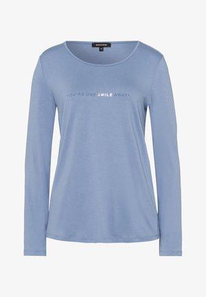 WORDING - Long sleeved top - blau