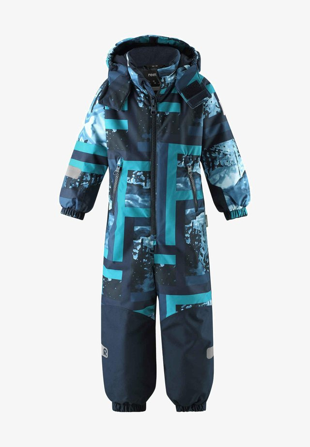 KIDDO WINTER SNOWY UNISEX - Snowsuit - navy
