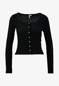 Nly by Nelly - BUTTON - Long sleeved top - black - 3