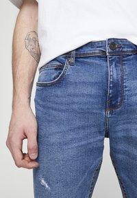 PULL&BEAR - MIT ZIERRISSEN 05682555 - Džíny Slim Fit - dark blue - 3