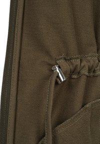 Urban Classics - LADIES TERRY  - Zip-up hoodie - olive - 2