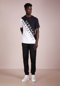 Versace Collection - T-shirt med print - nero/bianco - 1
