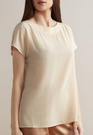 Basic T-shirt - crema