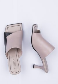TJ Collection - Heeled mules - beige - 4