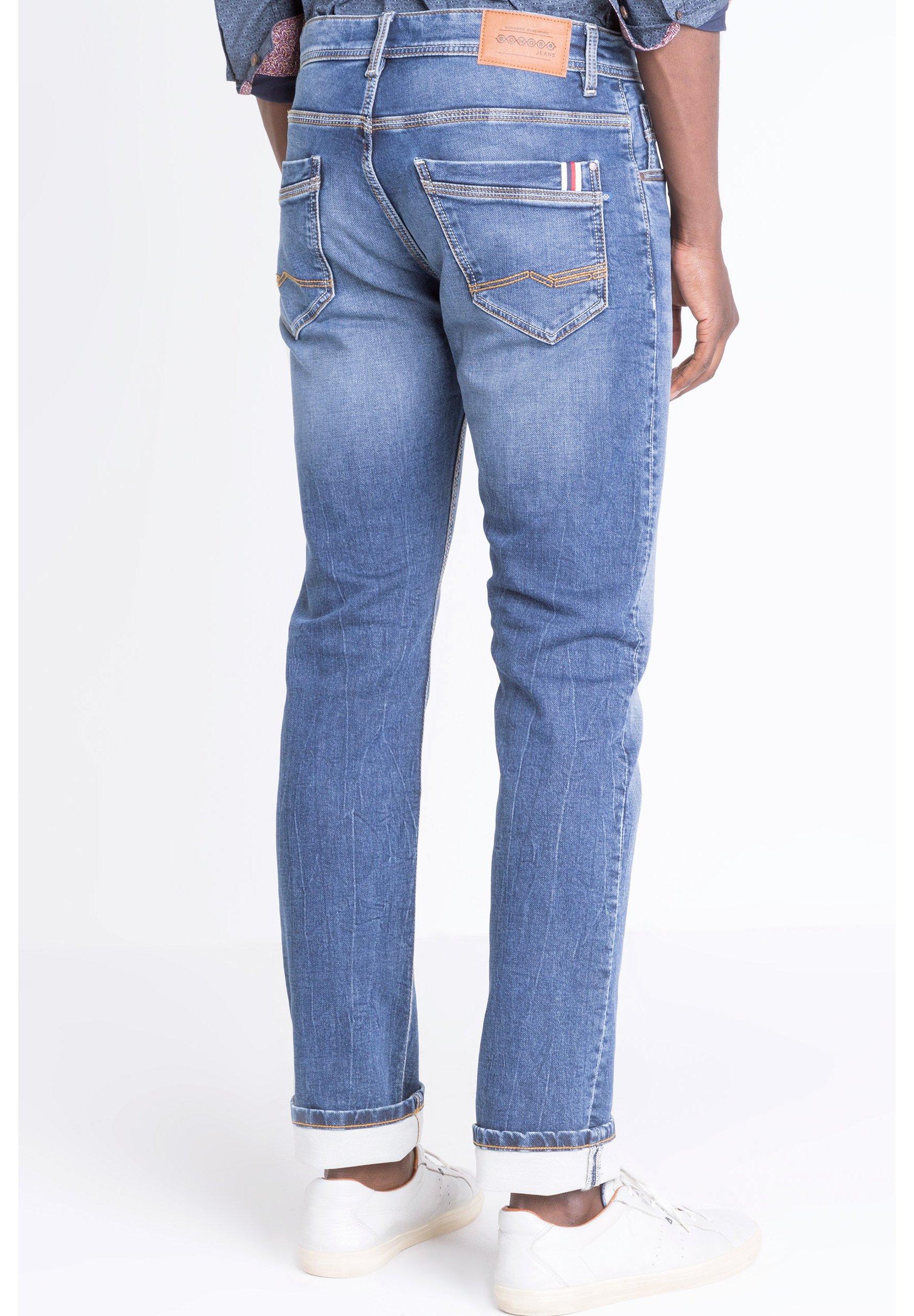 BONOBO Jeans BONOBO  - Jean droit - stone blue denim