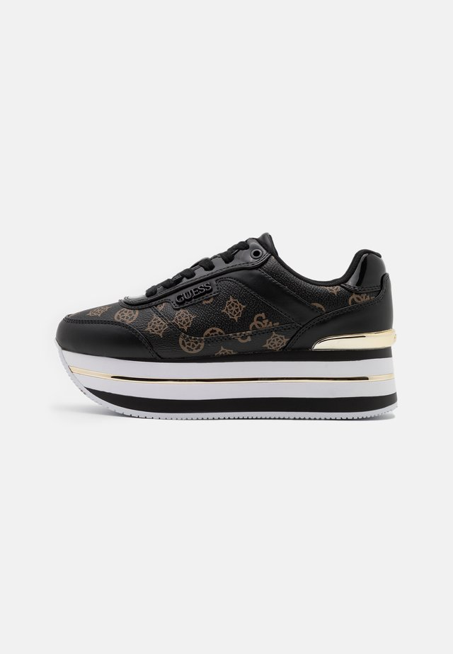 HANSIN - Sneakersy niskie - black brass