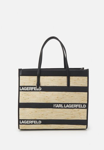 SKUARE LARGE LOGO TOTE - Tote bag - black