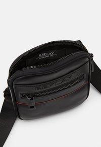 Replay - CROSSBODY - Across body bag - black - 3