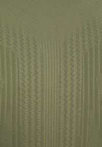 NU-IN - HALF ZIP LONG SLEEVE  - Long sleeved top - khaki - 6