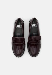XTI - Mocassins - burgundy - 5