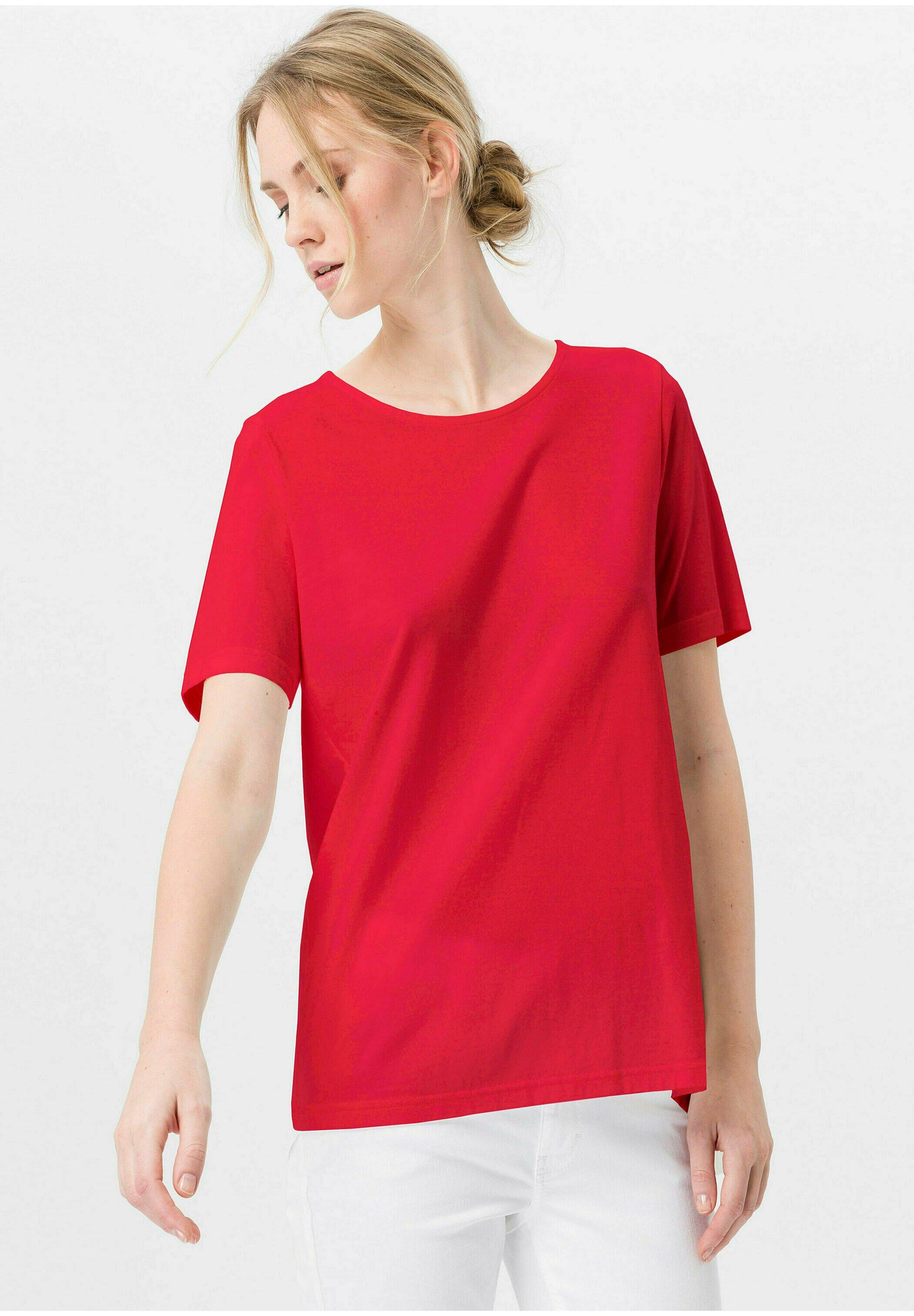 Damen MIT RUNDHALSAUSSCHNITT - T-Shirt basic