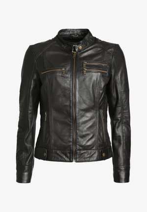 SIRPA - Leather jacket - black