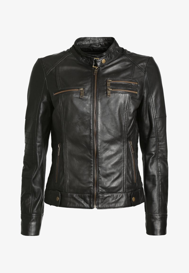 JCC - SIRPA - Leather jacket - black