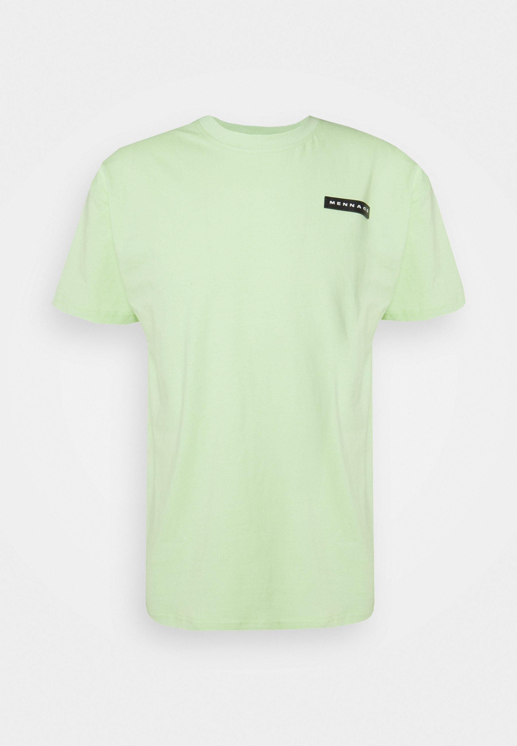 Men AFTERMATH RUBBER BADGE REGULAR UNISEX - Print T-shirt