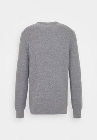 Lyle & Scott - BASKET JUMPER - Stickad tröja - mid grey marl - 1