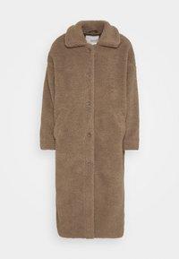 Minimum - IVORI - Classic coat - sepia tint - 5