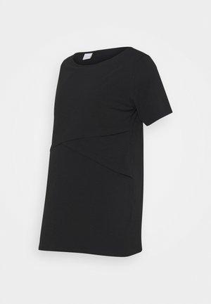 MLSIA JUNE - Basic T-shirt - black