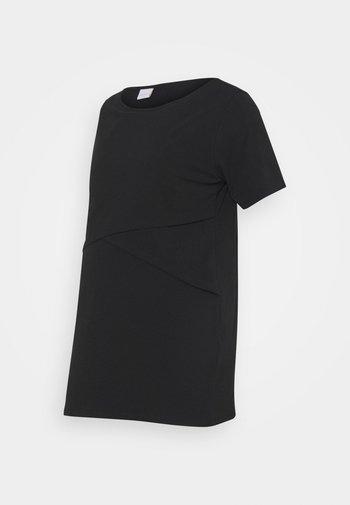 MLSIA JUNE - T-shirt basic - black