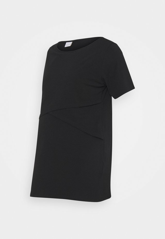 MLSIA JUNE - T-shirt - bas - black