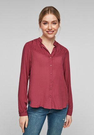 MET RIMPELING - Button-down blouse - pink