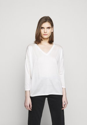 VENJA - Long sleeved top - ecru