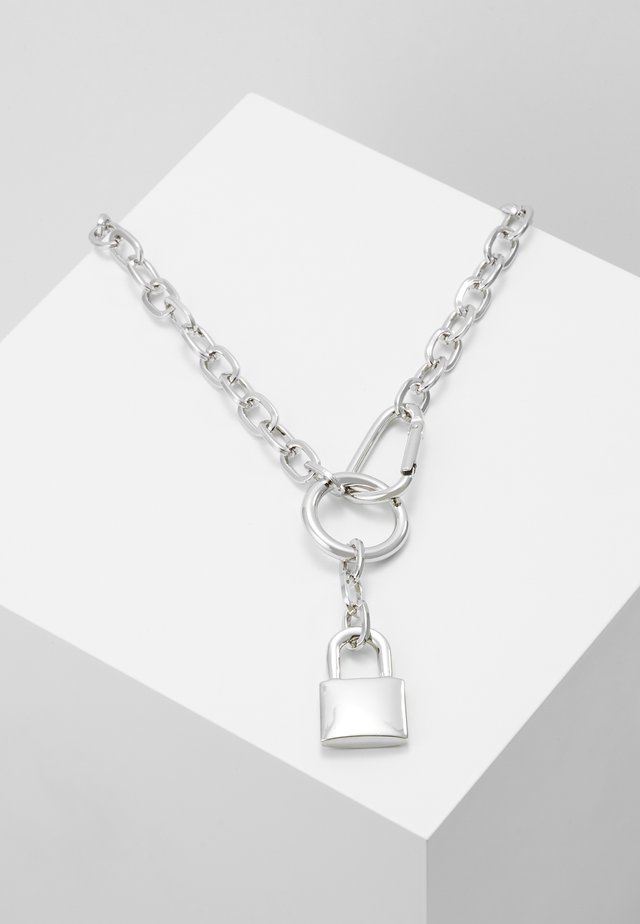PADLOCK - Necklace - silver-coloured