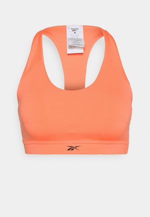 WORKOUT READY MEDIUM IMPACT BRA - Reggiseno sportivo con sostegno medio - twisted coral
